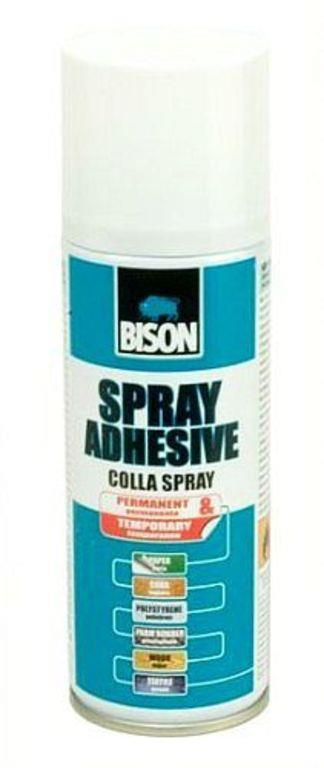 BISON SPRAY ADHESIVE 200ml